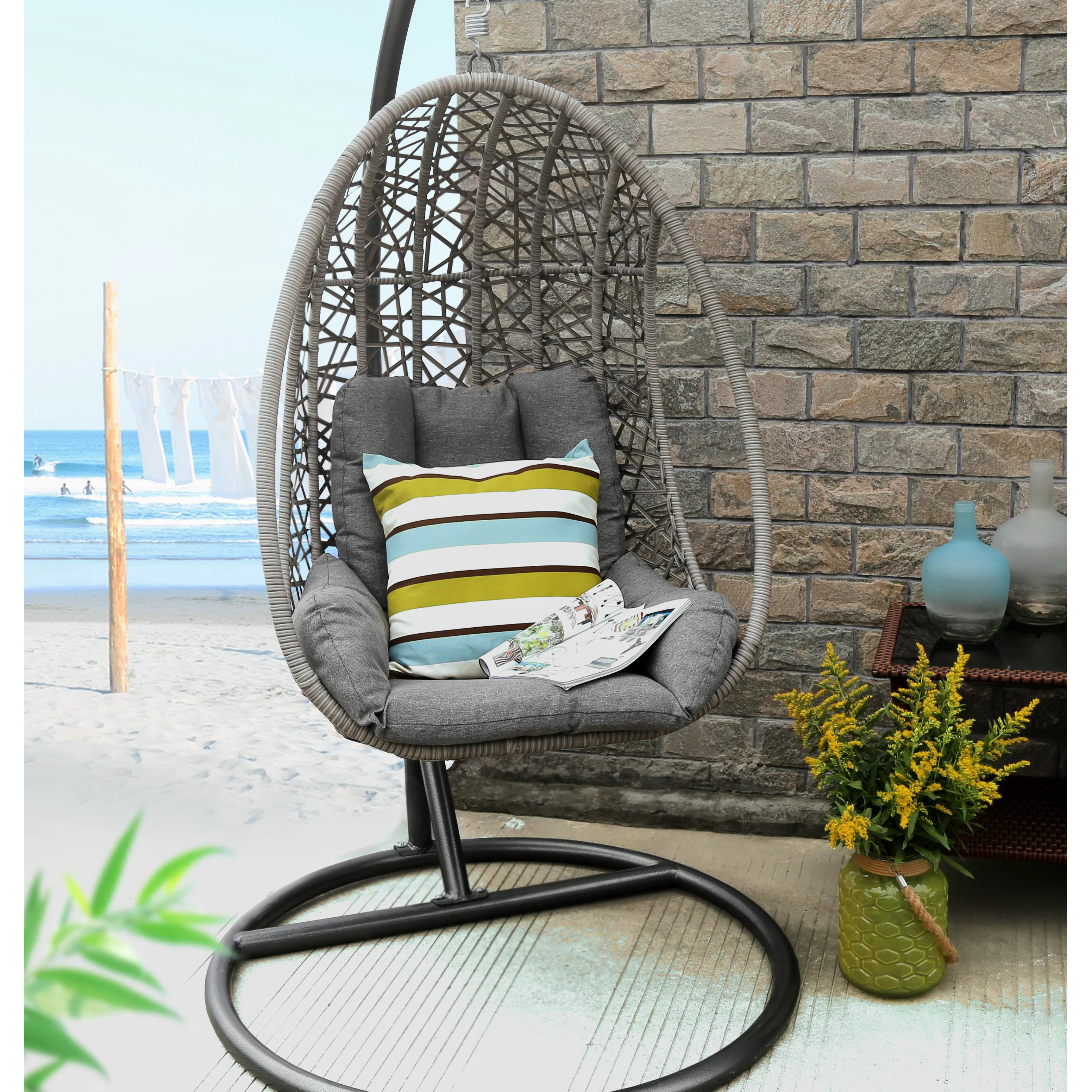Swinging Chair Outdoor Swing Chair With Stand
