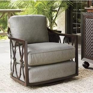 swivel chair cushions rattan wayfair sands patio with cushion