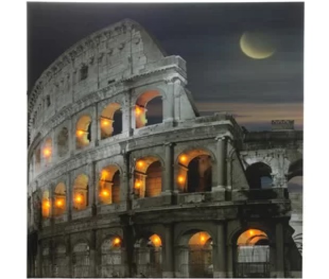 Colosseum Photographic Print On Canvas