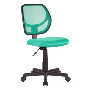 turquoise office chair baby bath chairs asda wayfair basics mesh