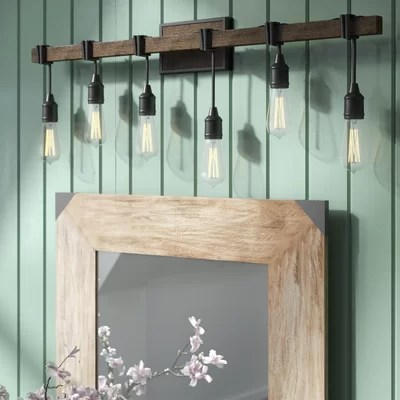Cottage Amp Country Bathroom Vanity Lighting Youll Love