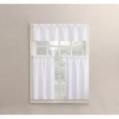 Kitchen Curtain Grey Blinds Farmhouse Curtains Wayfair Quickview