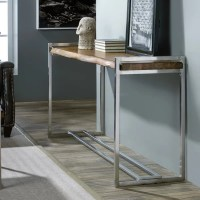 Hooker Furniture Live Edge Console Table & Reviews
