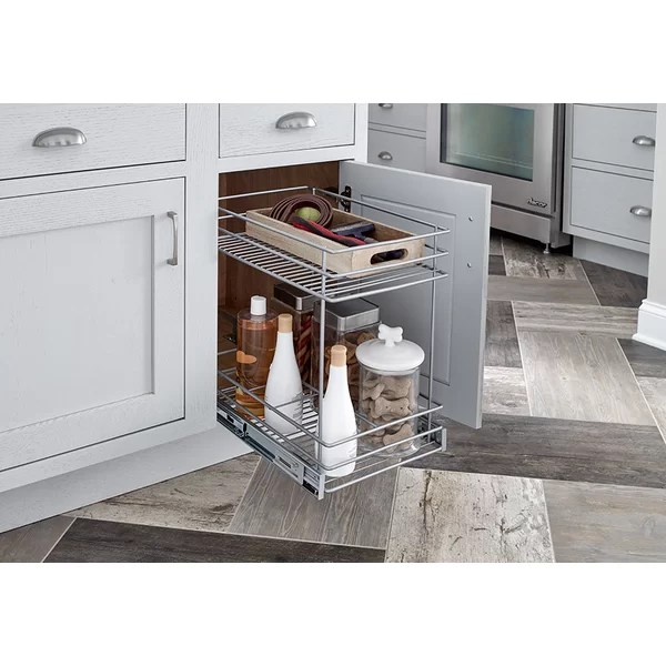 ClosetMaid 2 Tier Kitchen Cabinet Pull Out Basket
