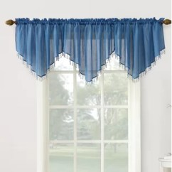 Blue Kitchen Valance Rugs And Runners Valances Curtains You Ll Love Wayfair Quickview