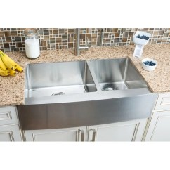 Hahn Kitchen Sinks Appliances For Sale Chef Series 35 88 L X 20 75 W Double Bowl Farmhouse Sink