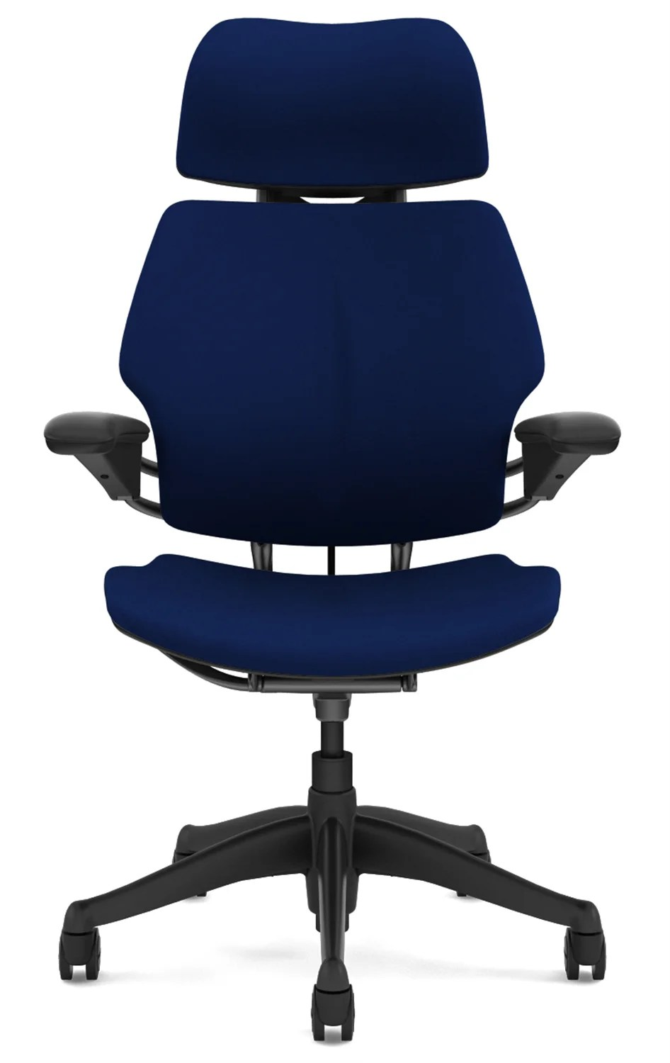 freedom task chair with headrest where to buy cane humanscale office reviews wayfair