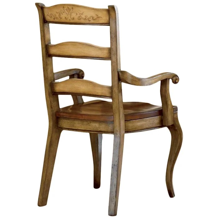ladderback dining chairs tin chair rail hooker furniture vineyard reviews wayfair