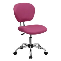 Girls Pink Desk Chair Without Backrest Chairs Wayfair Save