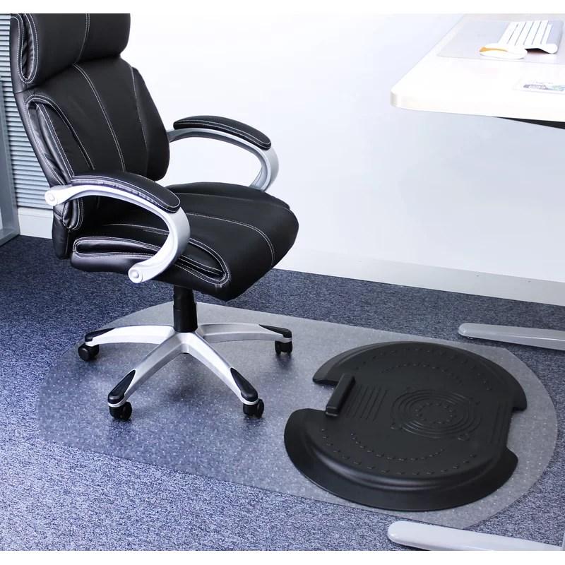 ergonomic chair mat robins egg blue floortex sit and stand solution medium pile carpet beveled