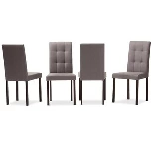 set of 4 dining chairs chair positions in dentistry kitchen you ll love wayfair aiello upholstered