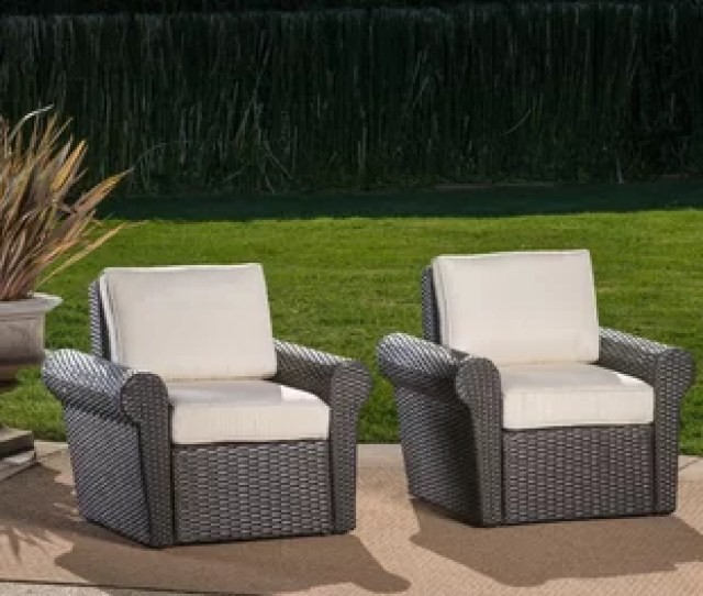 Singh Patio Chair With Cushions Set Of