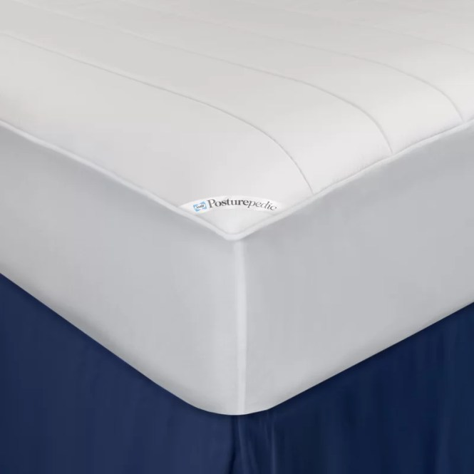Posturepedic Washable Memory Foam Ed Waterproof Mattress Protector