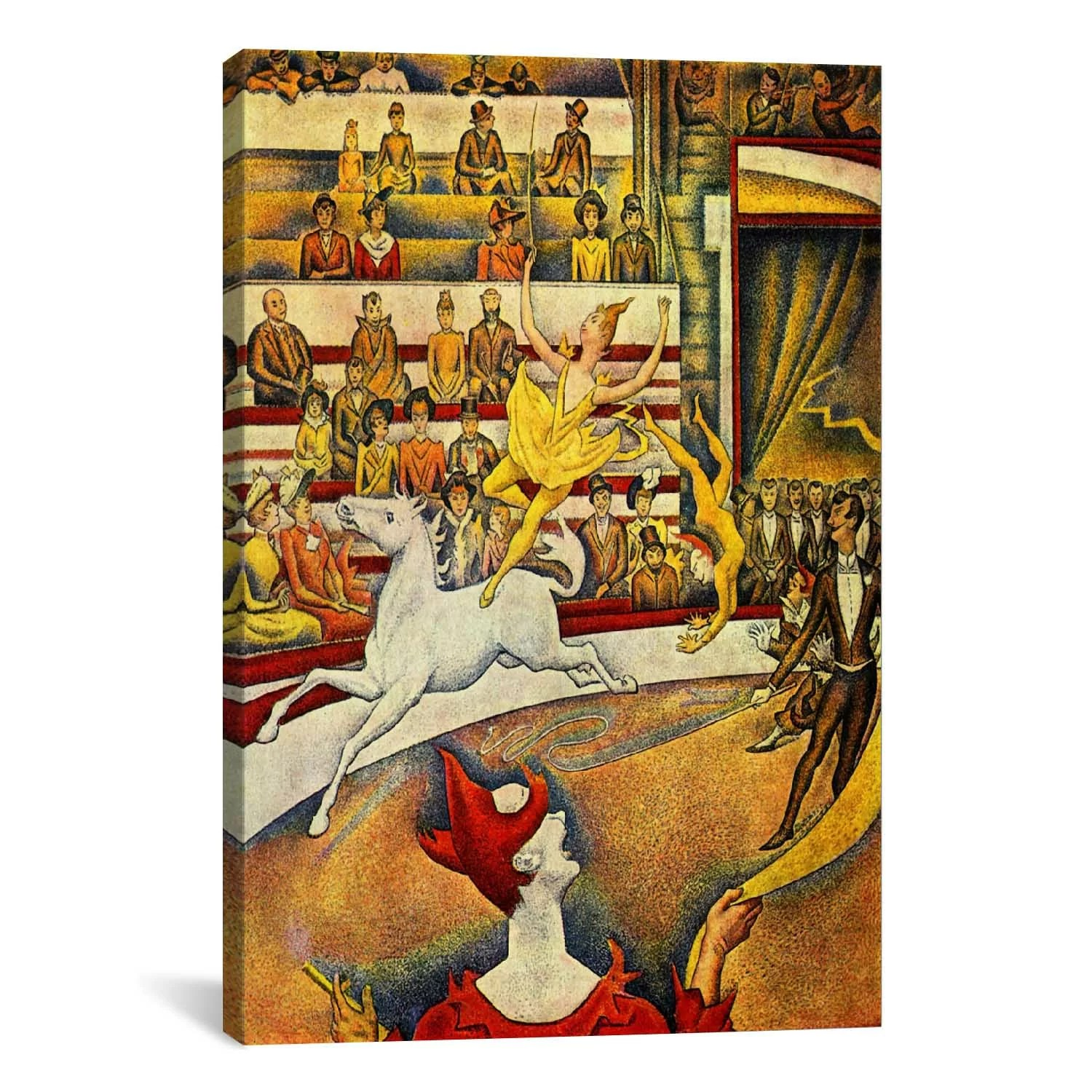 Icanvas The Circus By Georges Seurat Painting Print
