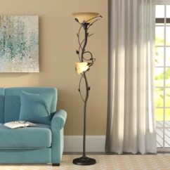Standing Lights For Living Room Faux Leather Chairs Floor Lamps You Ll Love Wayfair Ca Ila 72 Led Torchiere Lamp