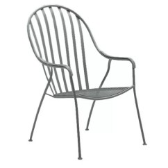 Stackable Metal Patio Chairs Bedroom Chair Folding Woodard Valencia High Back Wayfair