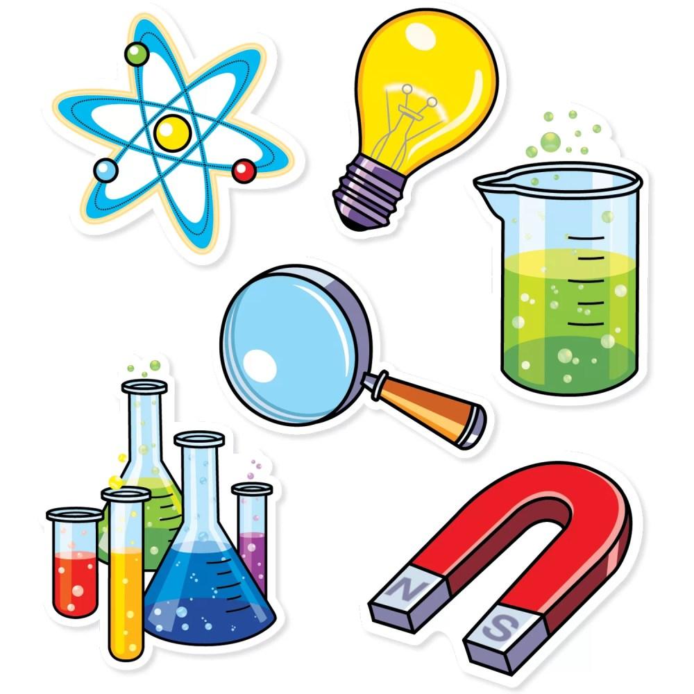 medium resolution of creative teaching press science lab designer bulletin board cut out wayfair ca