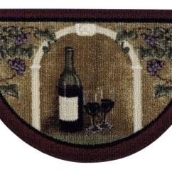 Wine Kitchen Rugs Metal Shelf For Wayfair Allgood Brown Area Rug