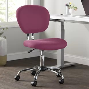 desk chair pink kitchen cushions walmart blush wayfair quickview