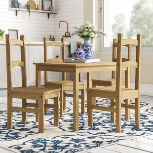 chairs for kitchen table nantucket island dining sets you ll love wayfair co uk vida corona set with 4
