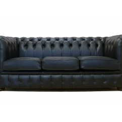 Chesterfield Sofa Bed American Leather Quality Williston Forge Lansdale Genuine 3 Seater Wayfair Co Uk