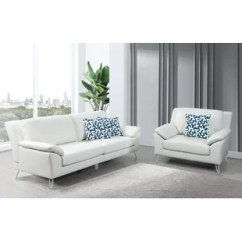 White Sofa Set Living Room Contemporary Design Styles Sets You Ll Love Wayfair Lourenco 2 Piece