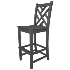 Bar Height Outdoor Chairs Lowes Calligaris Dining Polywood Chippendale 30 Quot Stool And Reviews Wayfair