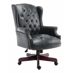 Luxury Desk Chairs Uk Jean Prouve Chair Vitra Homcom Rolling 79 5cm High Back Office Executive