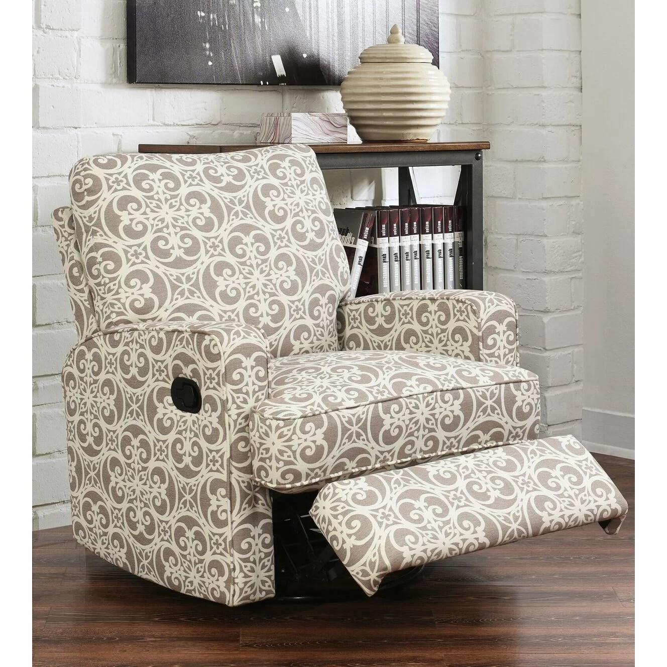 abbyson living rocking chair plastic eames replica red barrel studio darien swivel glider recliner and reviews