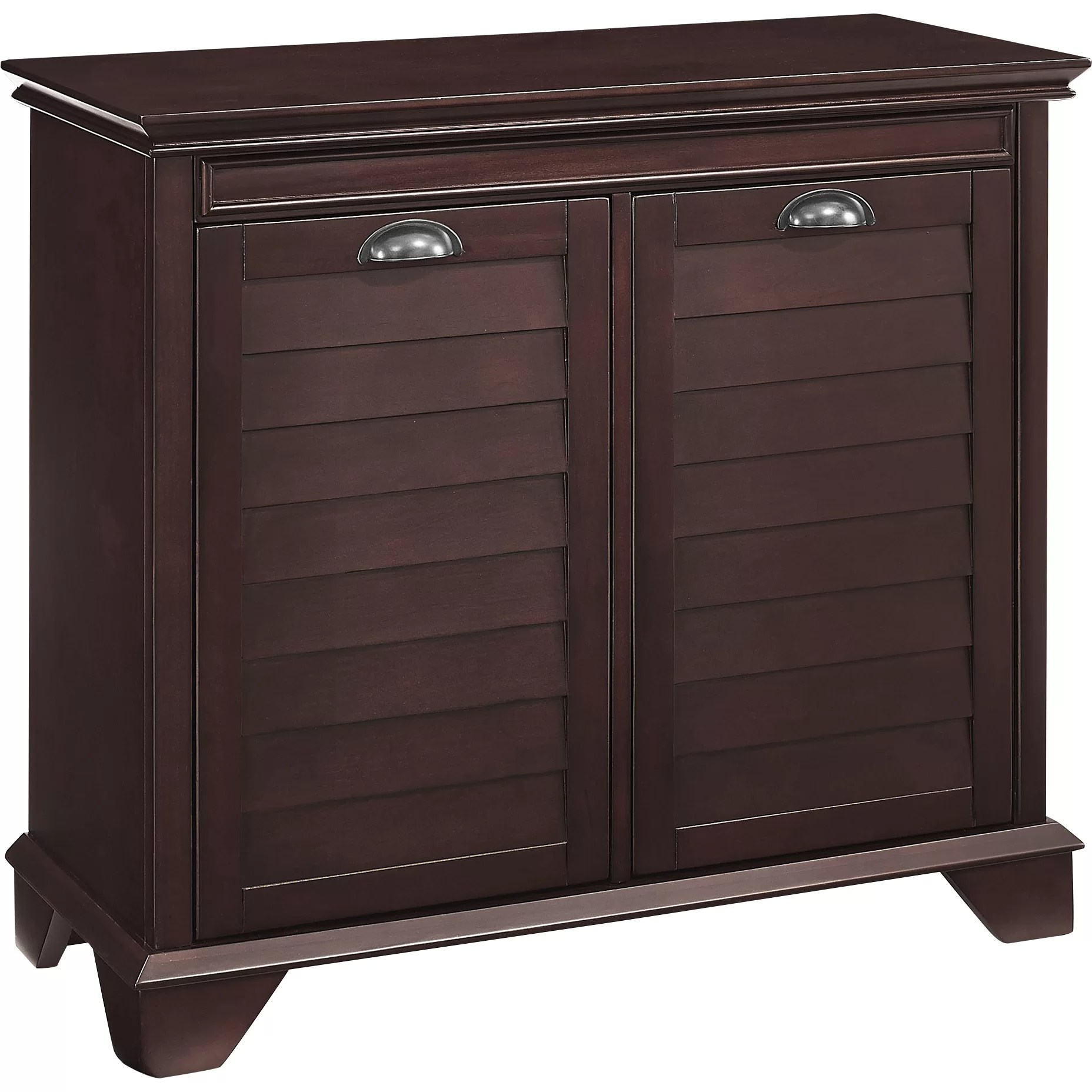 Beachcrest Home Martel Cabinet Laundry Hamper  Reviews  Wayfair