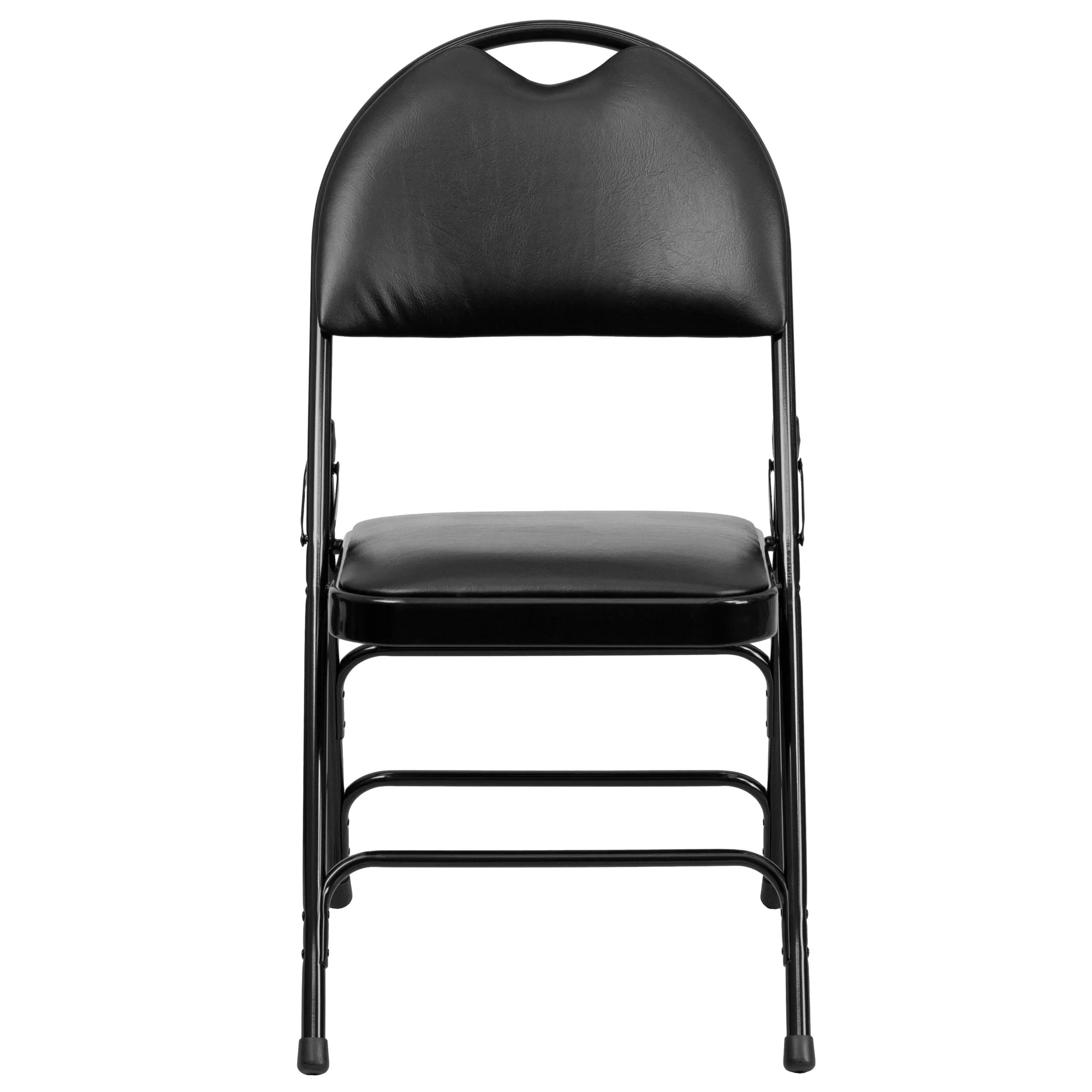 hercules folding chair oak slat back dining chairs flash furniture series and reviews