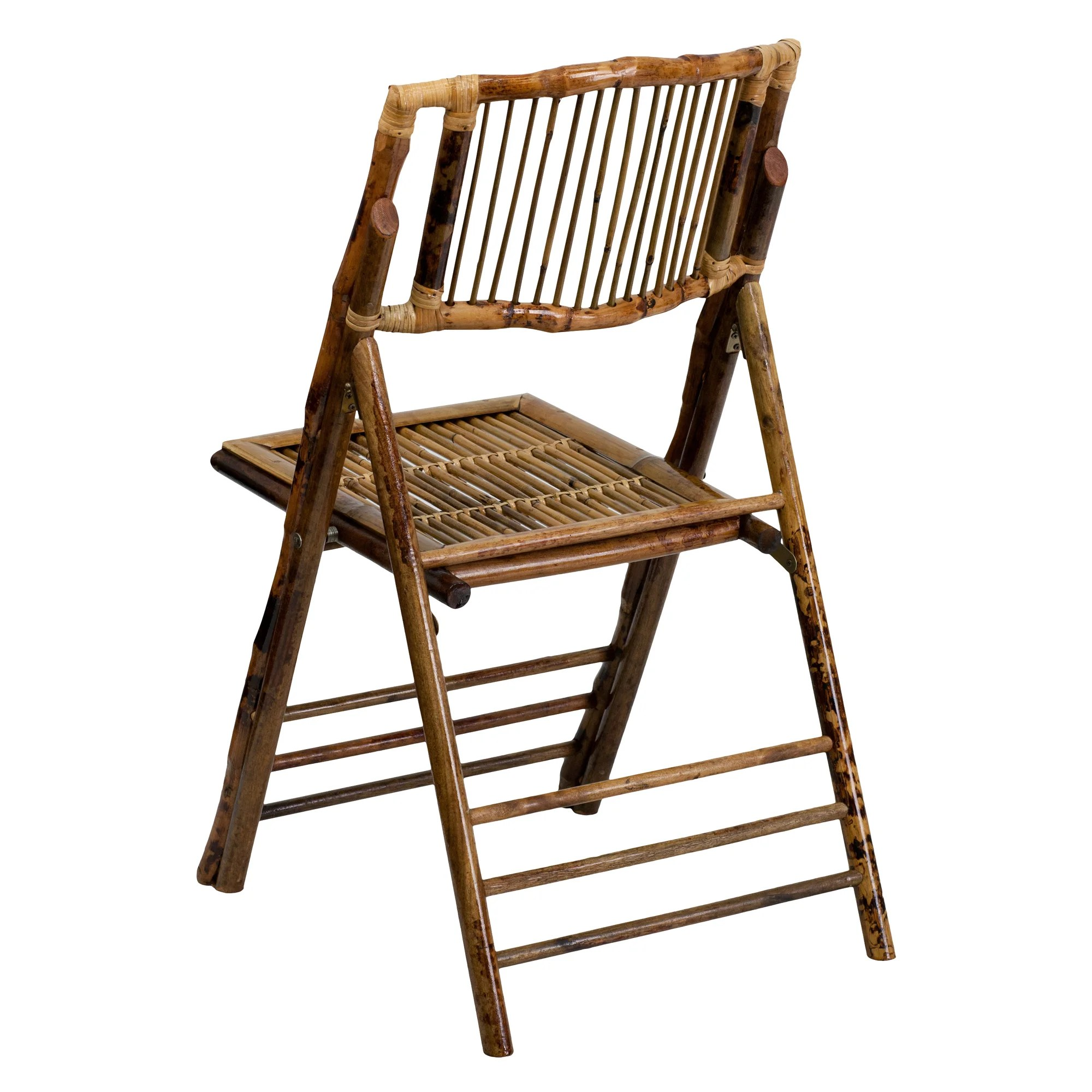 bamboo folding chairs wedding contemporary kitchen flash furniture american champion chair and reviews