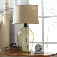 Sheffield Glass Table Lamp & Reviews | Birch Lane