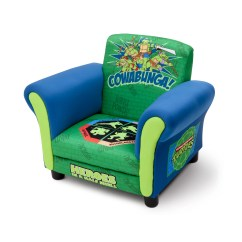 Ninja Turtles Chair Beach Chairs With Umbrella Delta Children Kids Upholstered Club