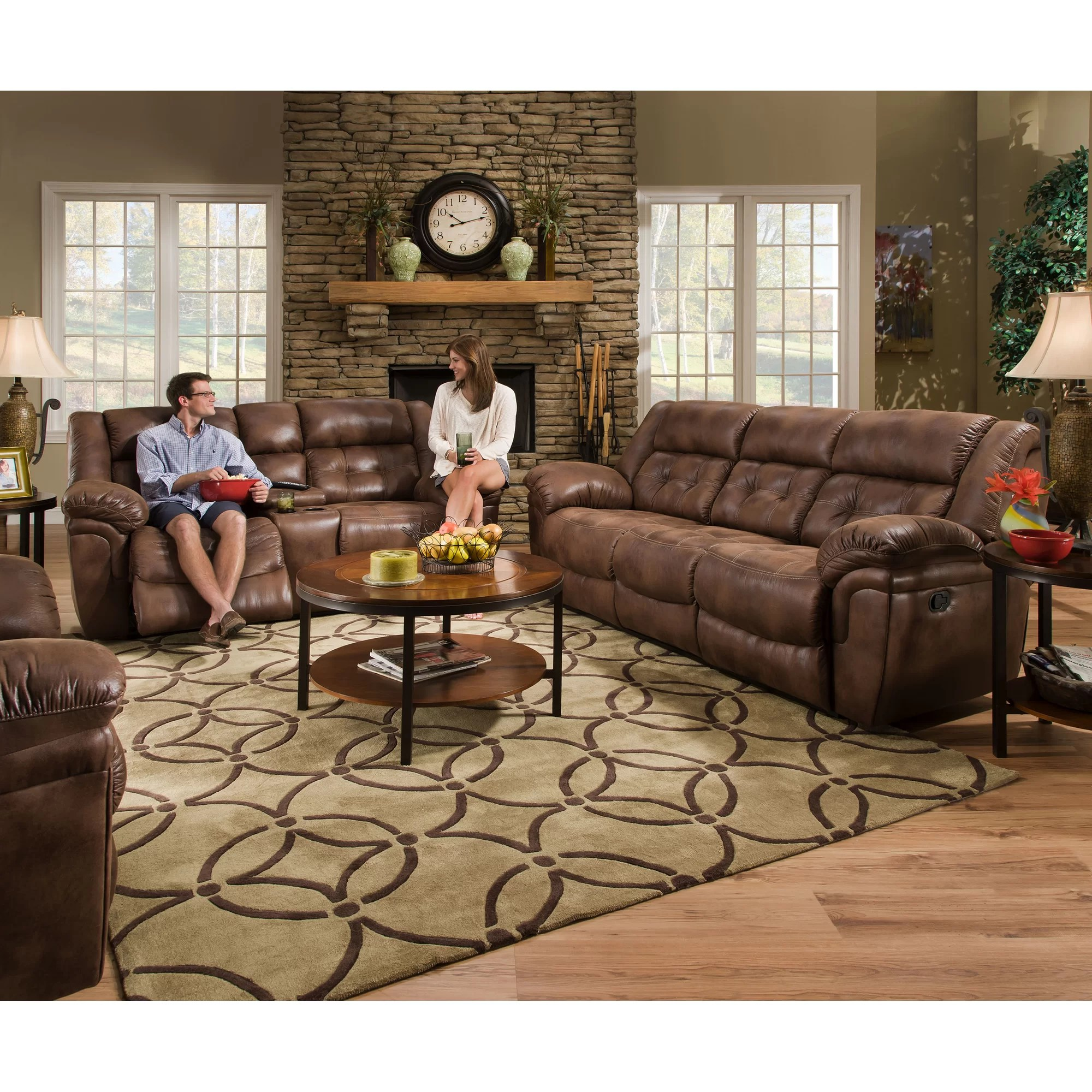 simmons beautyrest motion sofa reviews jacksonville foldable futon bed upholstery wisconsin reclining ...