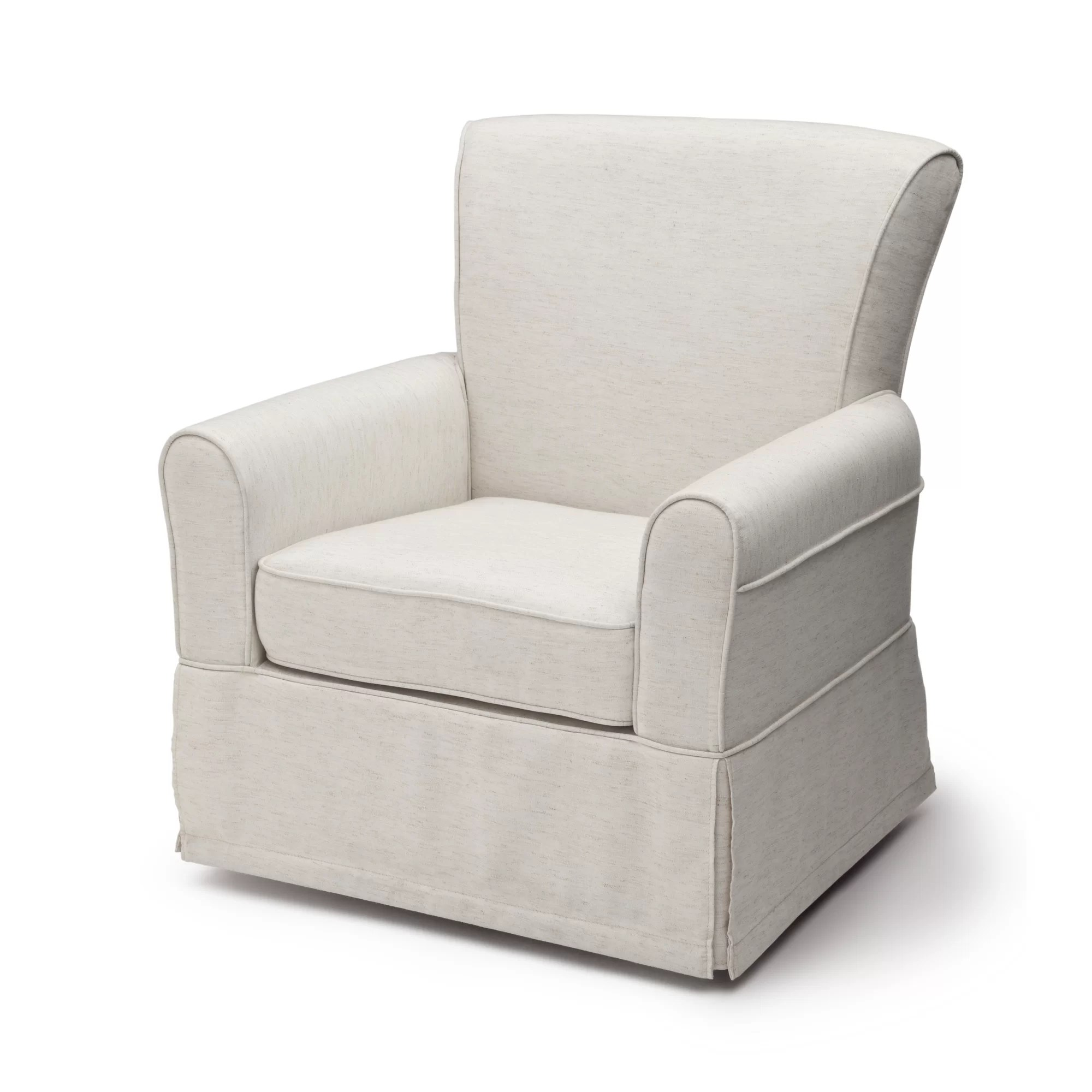 swivel chair child round back covers for sale delta children epic glider and reviews wayfair