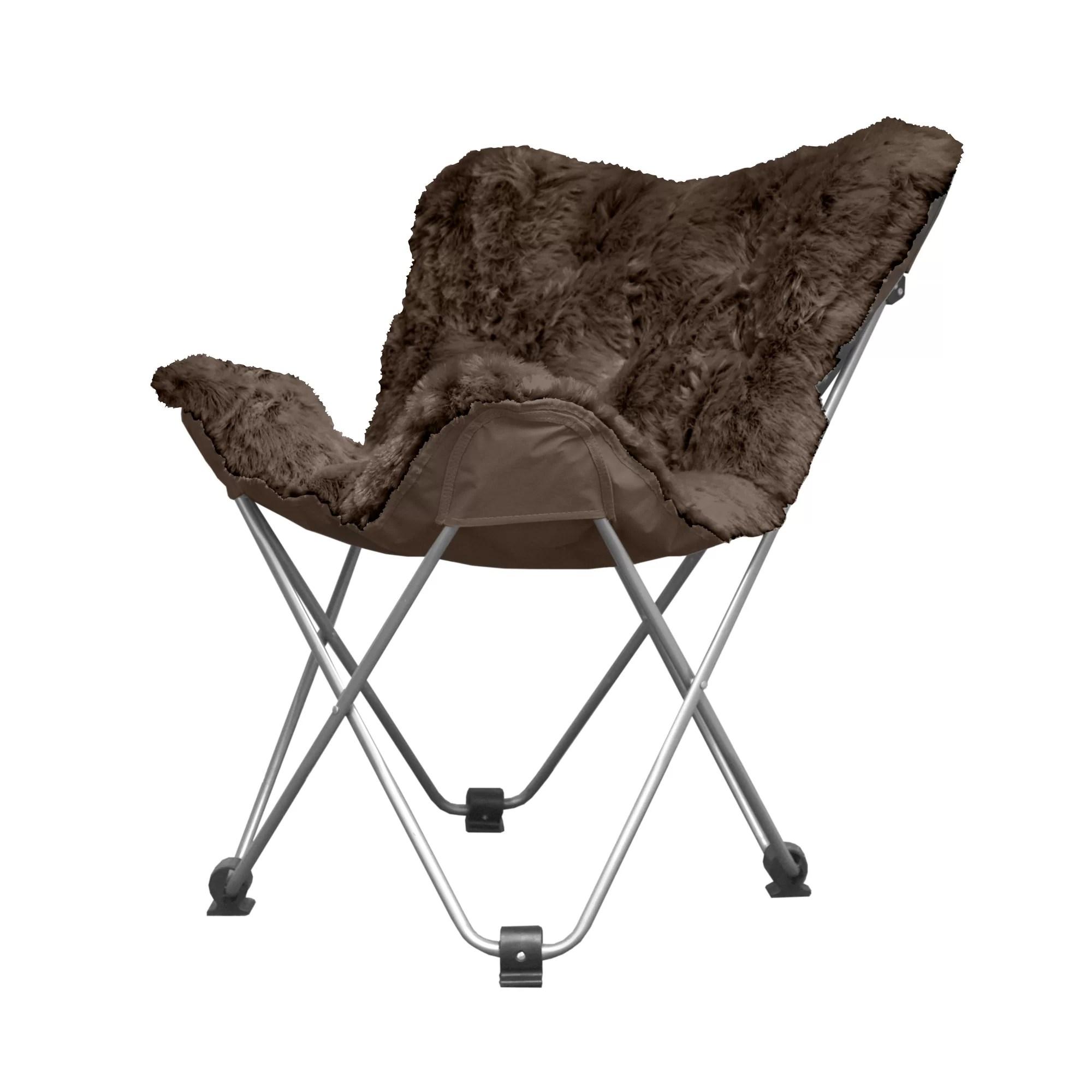 memory foam butterfly chair wedding covers navy blue idea nuova papasan and reviews wayfair