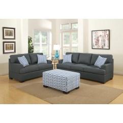 Poundex Bobkona Arcadia Sofa And Loveseat Set Lane Rv Bed Montega Reviews