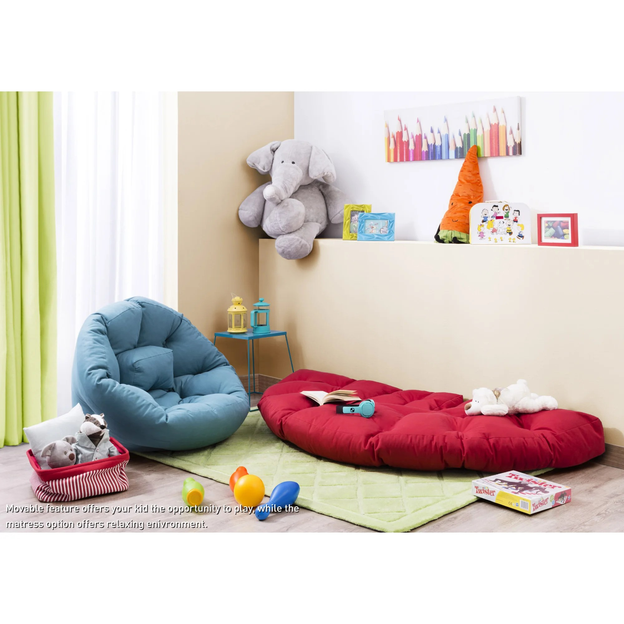 what size bean bag chair do i need baby shower wicker cilek for sleep and reviews wayfair