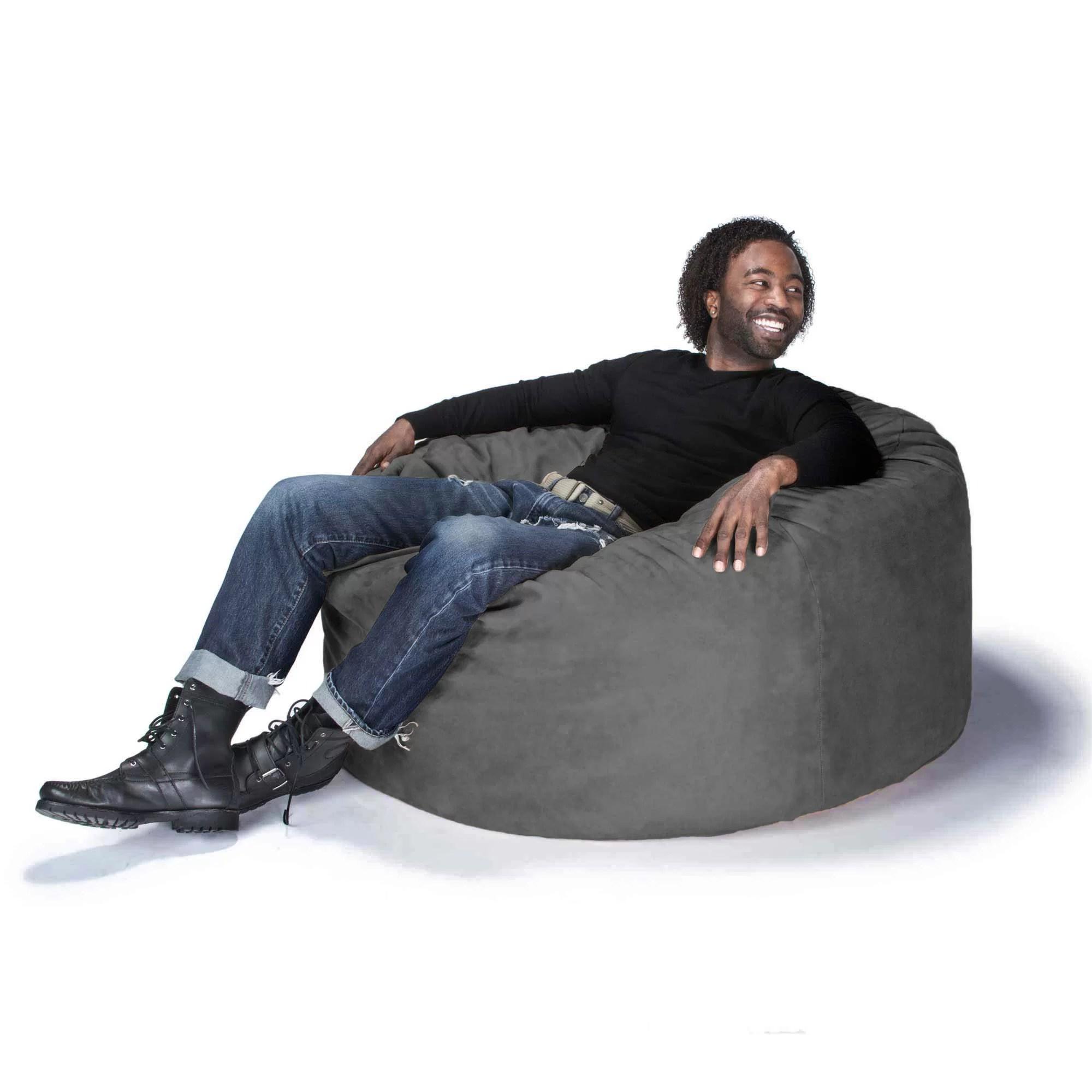 bean bag gaming chair vintage barrel chairs jaxx large and reviews wayfair ca