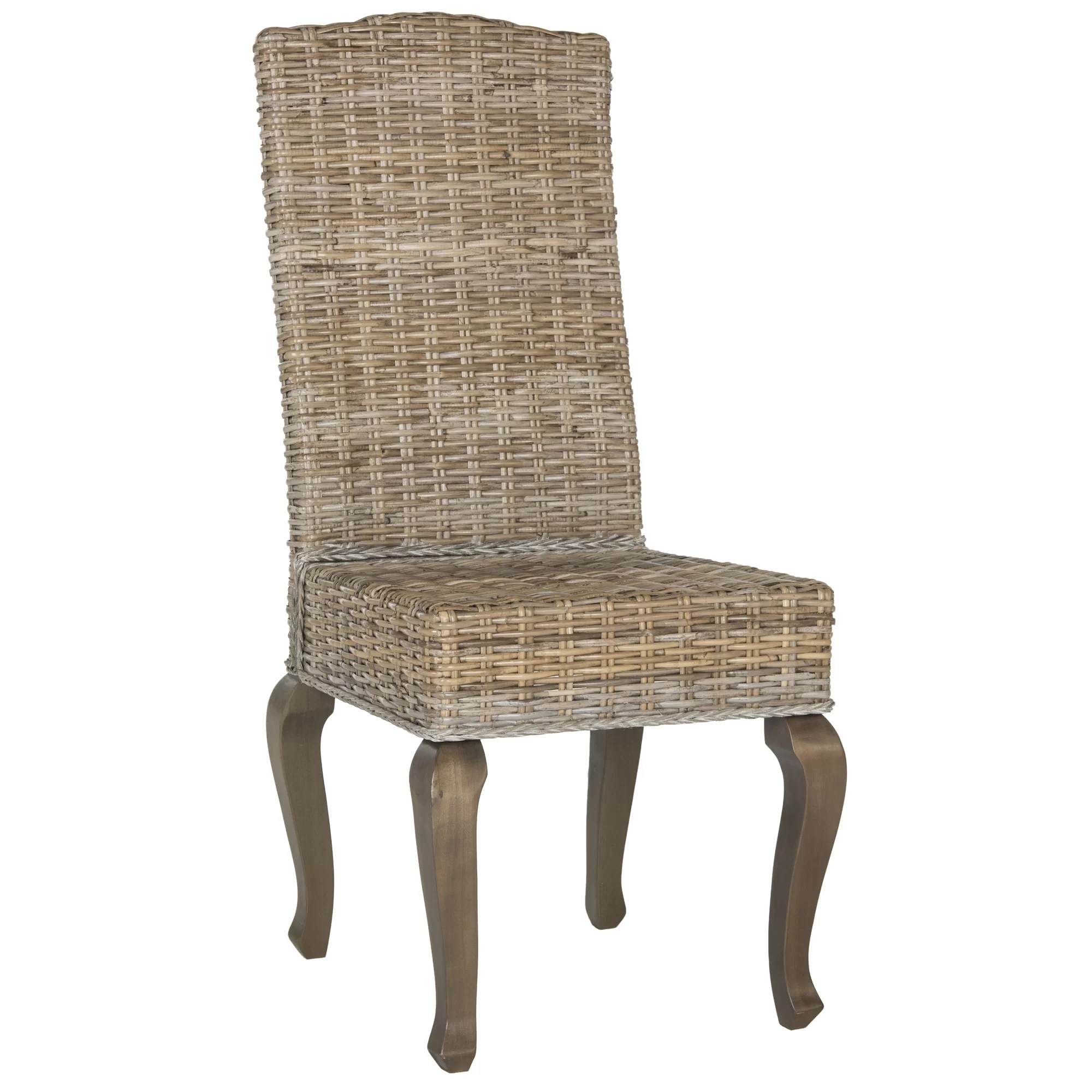 Wicker Side Chair Milo Rattan Side Chair And Reviews Joss And Main
