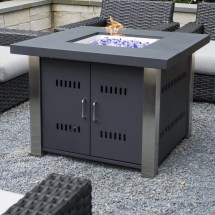 Montreal Propane Gas Fire Pit Table & Allmodern