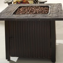 Stainless Steel Outdoor Gas Fire Pit