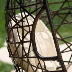 Egg Shaped Swing Chair Etsy.com Covers Bay Isle Home Duncombe Outdoor With
