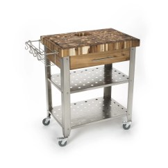 Chris And Kitchen Cart Prep Tables For Island With Butcher Block Top