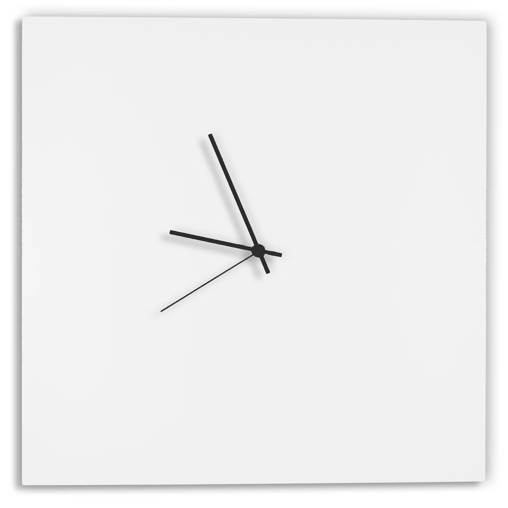 Square By Adam Schwoeppe Metal Clock Amp Reviews