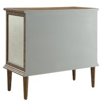 Lark Manor Roquefort Mirrored Cabinet & Reviews