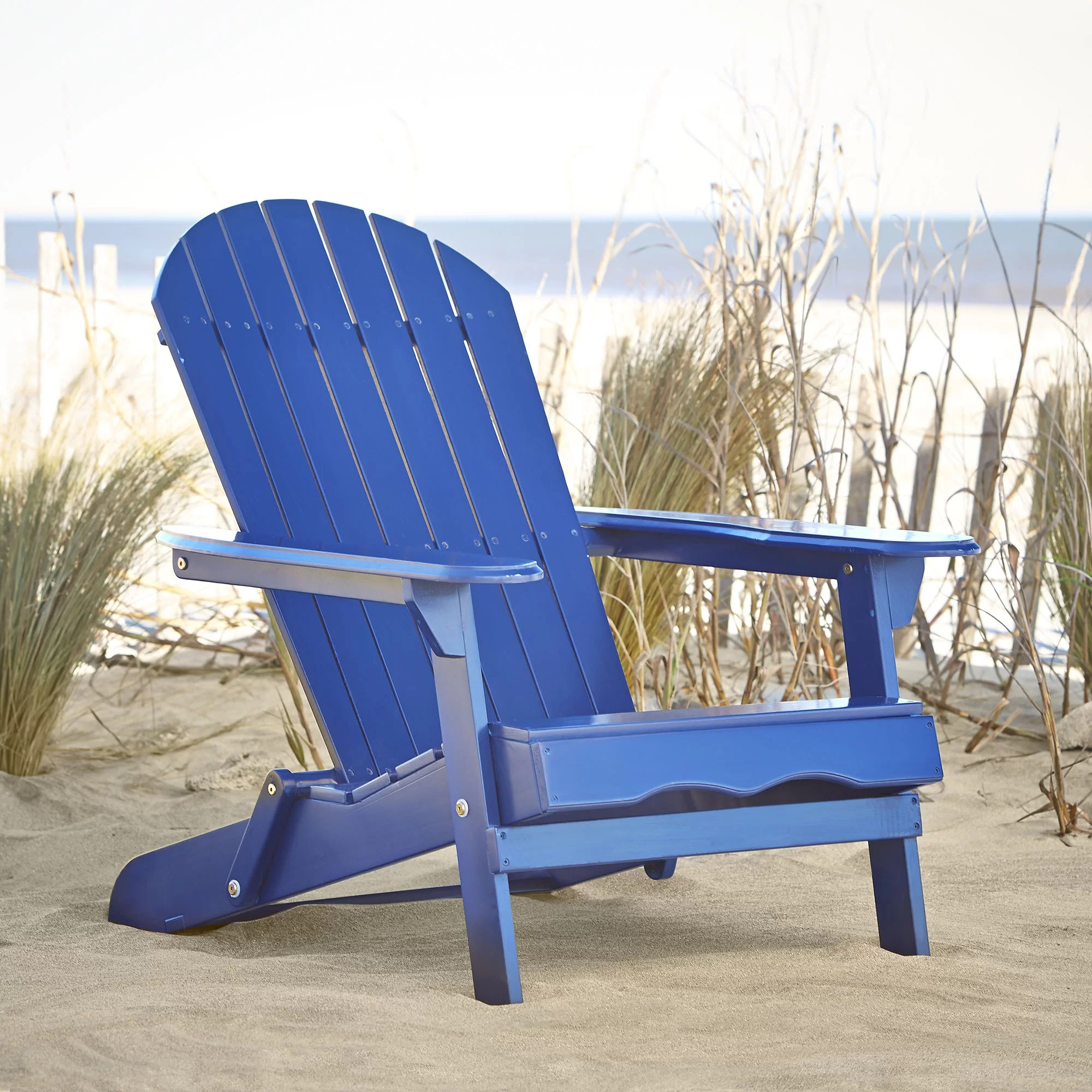 Foldable Adirondack Chair Birch Lane Ridgeline Foldable Adirondack Chair And Reviews