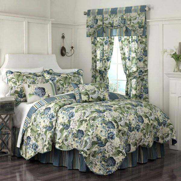 Waverly Floral Flourish Quilt Collection &