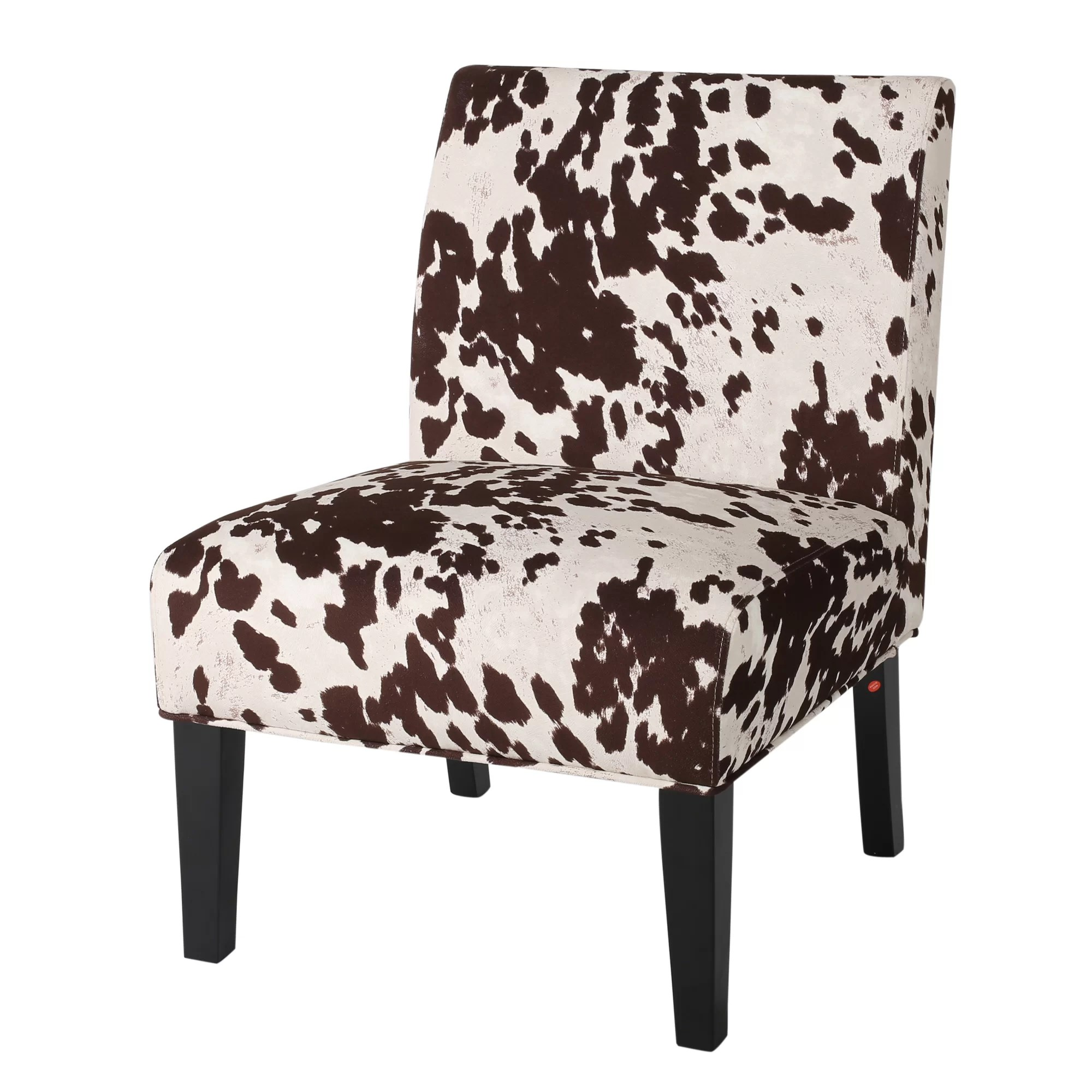 Cow Print Chair Rita Cow Print Slipper Chair And Reviews Joss And Main